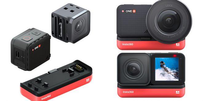 أعلنت شركة Insta360 عن اطلاق كاميرتها الجديدة وهي كاميرا Insta360 ONE R لتصوير فيديو ٣٦٠ درجة بدقة 5.3K