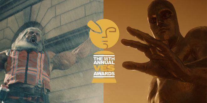 أعلنت جمعية المؤثرات المرئية عن المرشحين لجوائزها السنويةVES 2020في دورتها الثامنة عشر تقديراً لفن التأثيرات البصرية والإبداع في مجال الأفلام والرسوم المتحركة والتلفزيون والإعلانات التجارية وألعاب الفيديو..والملك الاسد و ALITA يتصدران ترشيحات جوائز VES 2020 للمؤثرات المرئية.