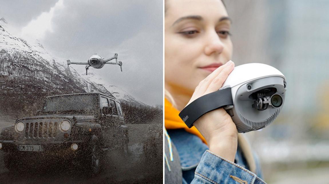 اعلنت شركةPowerVisionلتصنيع الطائرات بدون طيار عن طائرةPowerEgg Xأحدث طائرة درون وكاميرا بذكاء اصطناعي وكاميرا محمولة باليد..