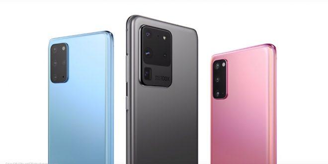 عرضت شركة سامسونج هاتفها الذكي Galaxy S20 Ultra بتصوير فيديو 8K بوضوح 108 ميجابيكسل وزوم 100x ..