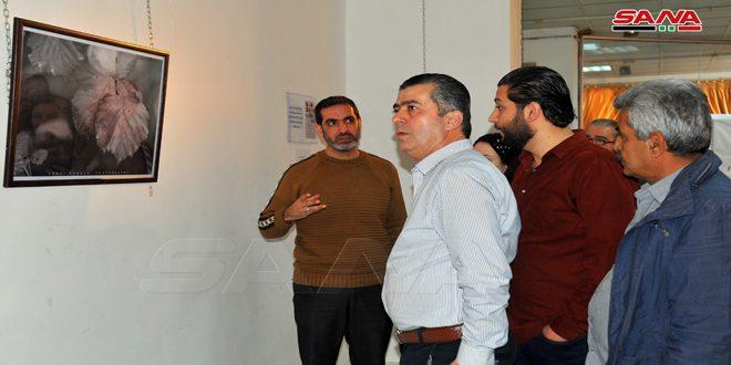 كتبت #فاطمة_ ناصر..عن معرضين للتصوير الضوئي ..للفنان التشكيلي والمصور الضوئي#لؤي_ خضر.. في مدينة اللاذقية..