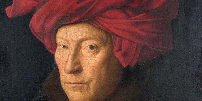 تعالوا نتعرف على الفنان التشكيلي#جان_ فان_ إيك..مواليد عام ( 1390م– 1441م) ..كان رسام الفلامنكو من القوطية في وقت متأخر الذين عملوا في بروج. ويعتبر الأفضل في مجموعة فلامنكو..